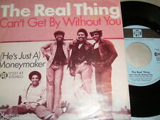 """7"""" - Real Thing / Can´t get by without you & Moneymaker - PYE # 0957"""