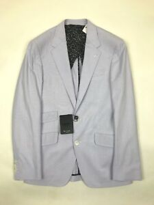 """Paul Smith - Lilac Byard Fit Striped Jacket - UK40"""" - *NEW WITH TAGS* RRP £490"""
