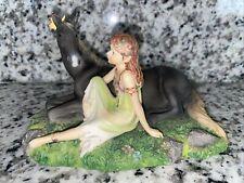 *Harmony* Fairy 2007 Faerie Glen Horse Series Fgh6703 Magical Mythical Mystical
