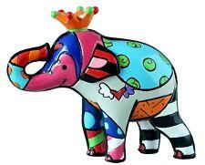 Romero Britto Figur *Elefant Orange King* JUBILÄUMSAUSGABE Sammlerfigur -20328
