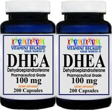 2X DHEA 100mg 400 Capsules, Boosts Metabolism, Healthy Aging