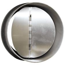 Clapet anti-retour acier pour hotte ou aerateur Diam.125 cm Equation *NEUF*
