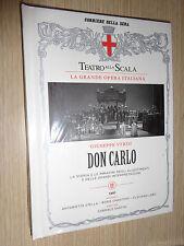 3 CD + BOOK N°13 DON CARLO TEATRO ALLA SCALA GIUSEPPE VERDI 1961 OPERA LIRICA