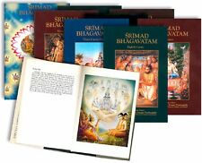 DEUTSCHES Srimad Bhagavatam Set NEU! VOLLSTÄNDIG bis 10 Canto