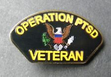 Operation Ptsd Grumpy Vet Veteran Lapel Hat Pin Badge 1 Inch