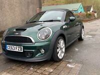 BMW Mini Cooper SD Roadster Convertable MANUAL Diesel 2013