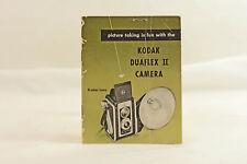 Kodak Duaflex Ii Camera Instruction Manual