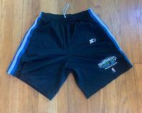 Minnesota Timberwolves Vintage 90's Starter Shorts Mens L EUC Rare