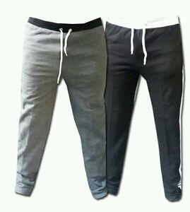 Mens Fleece trousers Tracksuit bottoms Gym Jogging Joggers sweat Pants