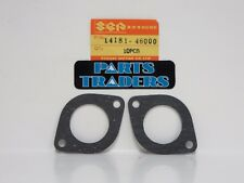 NOS Genuine Suzuki Exhaust Pipe Gasket Set of 2 RM80 RM50 RM60 RM 80 60 50
