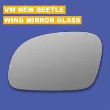Wing Mirror Glass For VW NEW BEETLE 2003-2010  Convex Heated Left side#1035