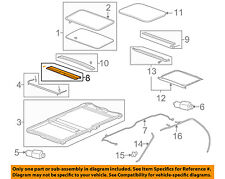 GM OEM Sunroof Sun Roof-Sunshade Shade Cover 20847273