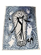 Nightmare Before Christmas Queen Size Blanket Soft Jack Skellington Reversible