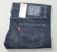 NWT • Men's LEVI'S 511 SLIM JEANS • Stretch Denim Pants • Dark Wash • CLEAN DARK