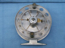 vintage fully functional kenny kendal wide drum aerial centre pin trotting reel