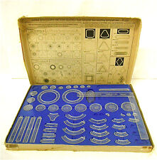 Vintage 1969 Kenner Super Spirograph 2400 w/Blue Tray, Manual, & Super Square