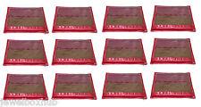 12 PCS PINK FRILL SAREE SHIRT BEDSHEET GARMENTS COVER ORGANIZERS STORAGES BAGS