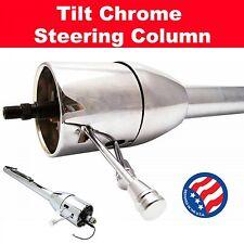 1955 - 1957 Chevrolet Bel Air Chrome Tilt Steering Column No Key Floor Shift