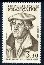STAMP / TIMBRE FRANCE NEUF N° 2256 ** MARTIN LUTHER