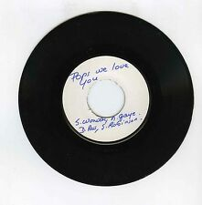 45 RPM SP TEST PRESSING POPS WE LOVE YOU S.WONDER M.GAYE D.ROSS S.ROBINSON
