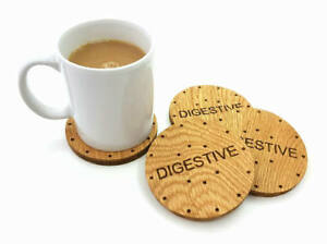 Digestive Biscuit Coasters
