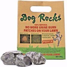Perro Rocas - 600g Pack detener la orina del animal doméstico marca hierba Piedra Roca Tazón de fuente de alimentación de agua bloque