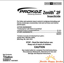 Zenith 2F Insecticide 1 gallon