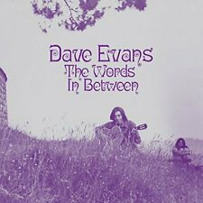 DAVE EVANS - THE WORDS IN BETWEEN   CD NEU