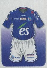 465 MAILLOT SHIRT ALLEZ LE RACING !  RC.STRASBOURG STICKER PANINI FOOT 2O18