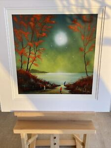Adam Barsby Signed Limited Edition Print - Mesmerised