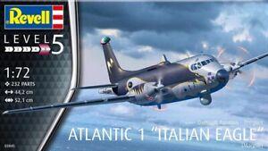 "Revell 03845 - 1/72 Breguet Atlantic 1 "" Italiano Eagle "" - Nuovo"