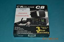 NIB Midland 1001Z 40 Channel CB Radio RF Gain Control PA Switch