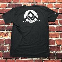 Avalanca Authentic Jiu Jitsu United USA Made Mens Large T Shirt MMA Official