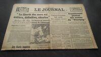 """""""El Diario"""" Edition De 5 Horas Antiguo N º 17326 Jueves 28Mars1940 ABE"""