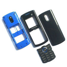 100% Genuine Samsung E2121 fascia housing+screen lens+battery cover+camera glass