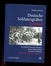 br- DEUTSCHE SOLDATENGRABER IN iSRAEL  ( German soldiers graves WW1) 1st  HB VG
