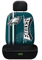 NFL Philadelphia Eagels Team Logo Printed Car Seat Cover Offically Licensed