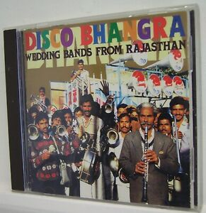DISCO BHANGRA - Wedding Bands from Rajasthan - (CD 1994)**EXC**