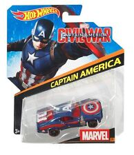 Hot Wheels 2014 Marvel Character Cars Captain America #02