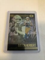 2020 Panini Illusions Football Justin Herbert #7 Hobby Rookie Card Chargers RC