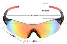 ROCKBROS Cycling Sunglasses Bike Bicycle Sports Glasses Goggles Black Red