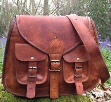 Vintage Women's Genuine Real Leather Handbag Shoulder Bag Satchel Messenger New