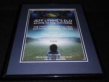 Jeff Lynne's ELO 2015 Alone in the Universe Framed 11x14 ORIGINAL Advertisement