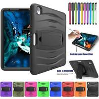 Hybrid TPU Shockproof Kickstand Case Hard Cover for Apple iPad Pro 11-inch 2018