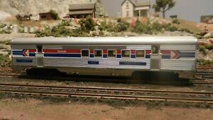 Athearn Vintage HO Amtrak Streamlined RPO Car, Upgraded, Exc.