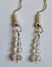 Childs light weight bead dangle EARRINGS Jewellery (T2)