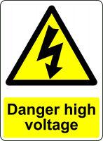 DANGER HOT OSHA DECAL SAFETY SIGN STICKER 3M USA MADE
