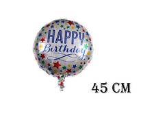 !!! Folienballon, Happy Birthday, Sterne, Geburtstags Ballon
