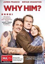 Why Him? (DVD, 2017) Region 4, Ex Rental, Professionally buffed for sale