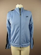 *PUMA* SIZE M WOMEN'S BLUE FULL ZIP ATHLETIC SWEATER W/SIDE POCKETS